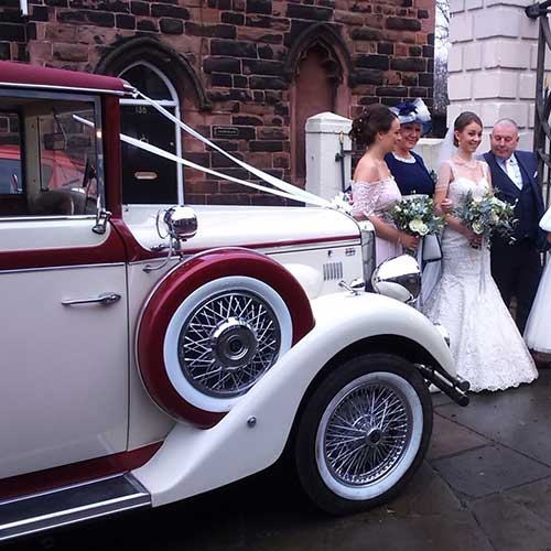 Wedding Chauffeur Car Hire Manchester Warrington Cheshire Merseyside