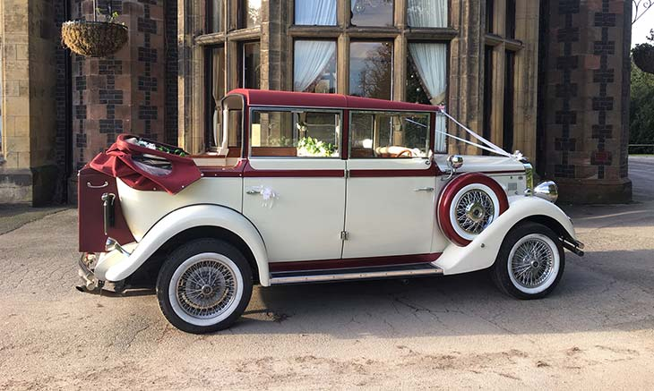 Vintage Wedding Car Hire Manchester Cheshire