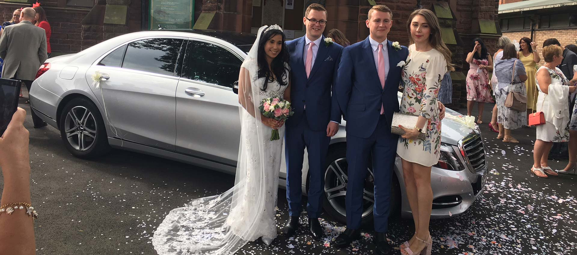 Wedding Car Chauffeur Hire Cheshire Chester