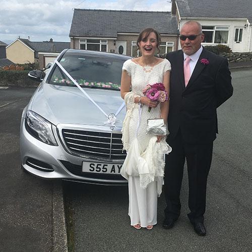 Wedding Chauffeur Car Hire Manchester Warrington Cheshire Merseyside